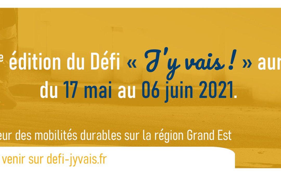 """Défi """"J'y vais !"""" édition 2021 se déroulera du 17 mai au 06 juin"""